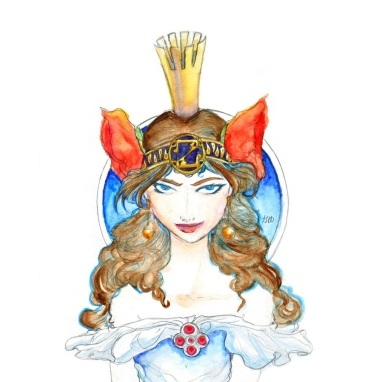 ozma_of_oz_watercolor_by_noelle_chan-d49ru61