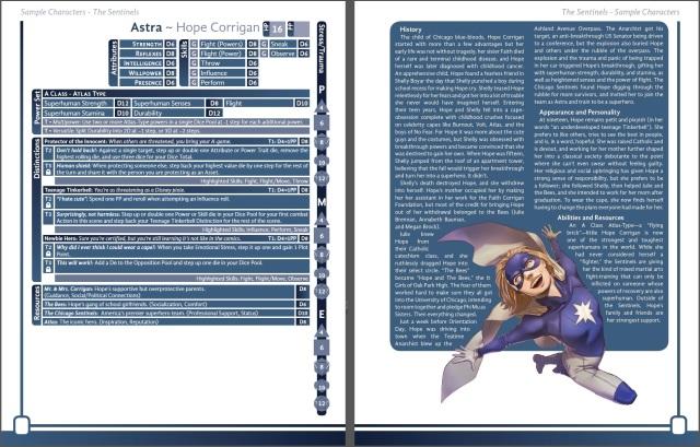 Astra Character Sheet
